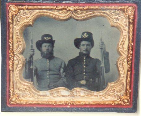 portrait of William and Asa Hagerson