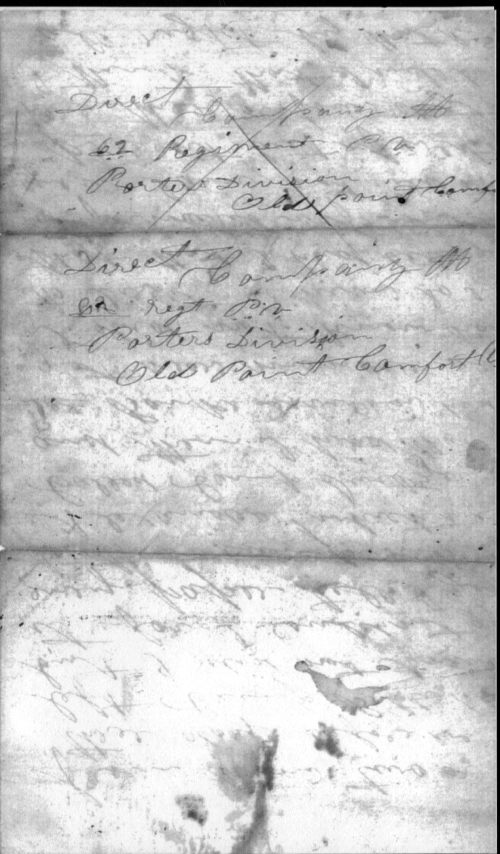 letter from Sgt. William Hagerson, page 3