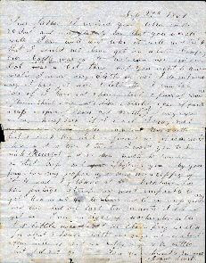 letter to his father, front