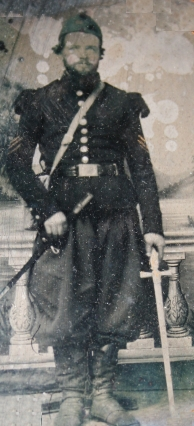 Sam Temple in his Chasseur uniform
